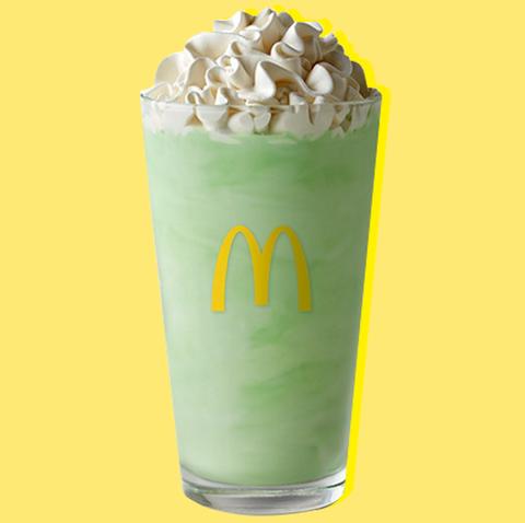 McDonald's Shamrock Shake Calories and Ingredients