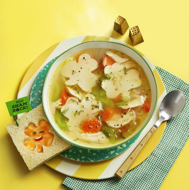 shamrock noodle soup
