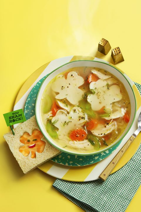 shamrock chicken noodle soup