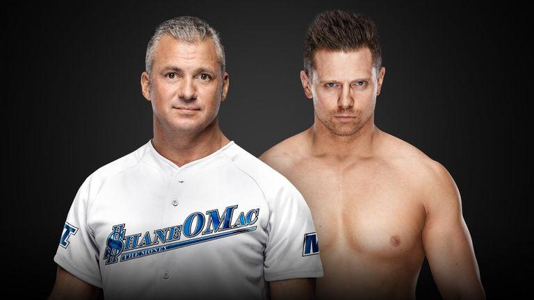 The Miz vs Shane McMahon