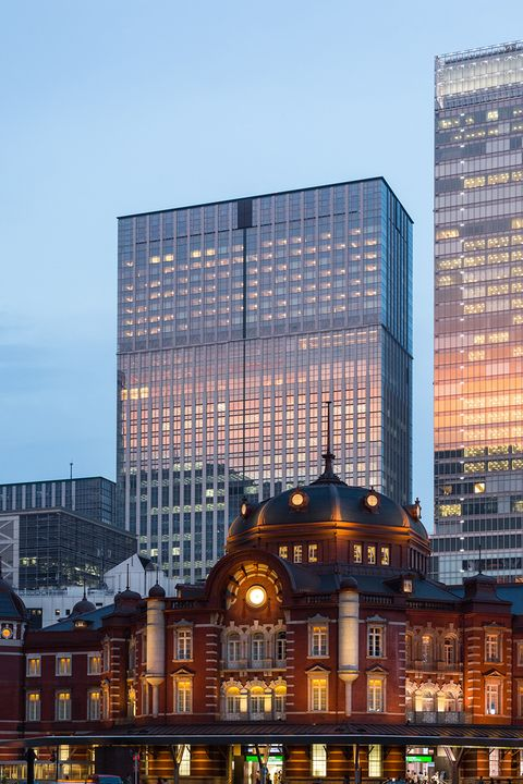 東京駅に隣接するシャングリ・ラ ホテル 東京