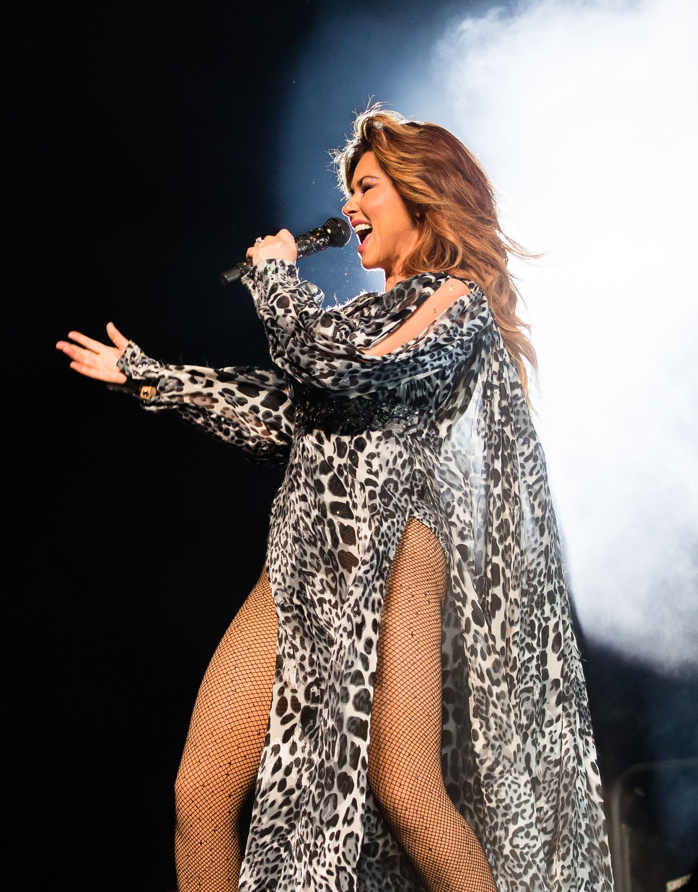 "Shania Twain Says Losing Voice to Lyme Disease Was a ""Great"