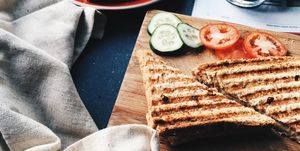 lunch tosti koffie