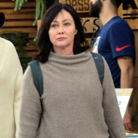 Shannen Doherty, destrozada tras la muerte de Luke Perry