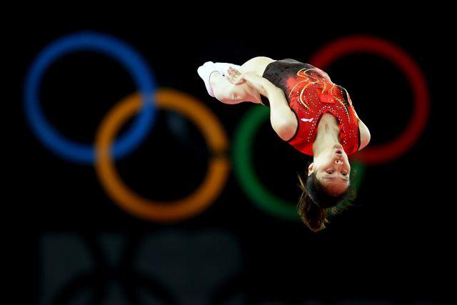 olympics day 8 gymnastics trampoline