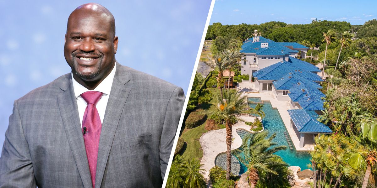 Shaquille O Neal Is Selling His Orlando Mansion For 28