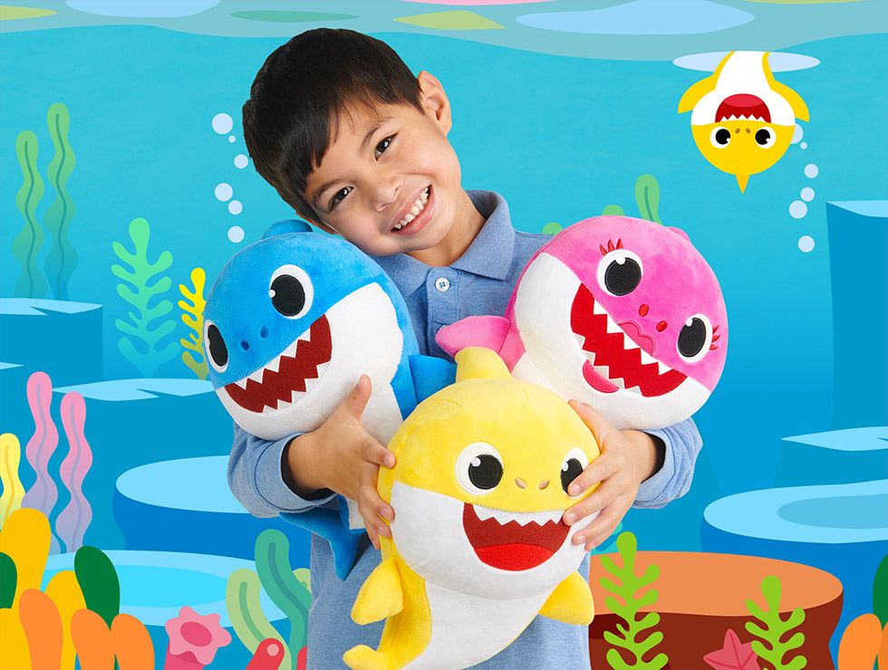 Singing Baby Shark Toys Are Here to Get That Song Stuck In Your Head Forever