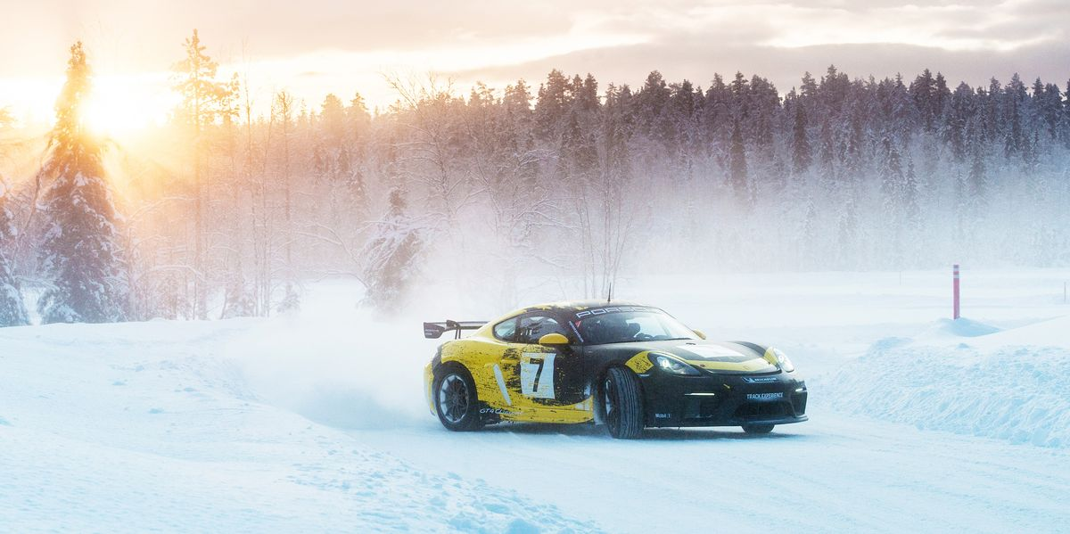 A Fantasy Trip to Finland, and Porsches on Ice