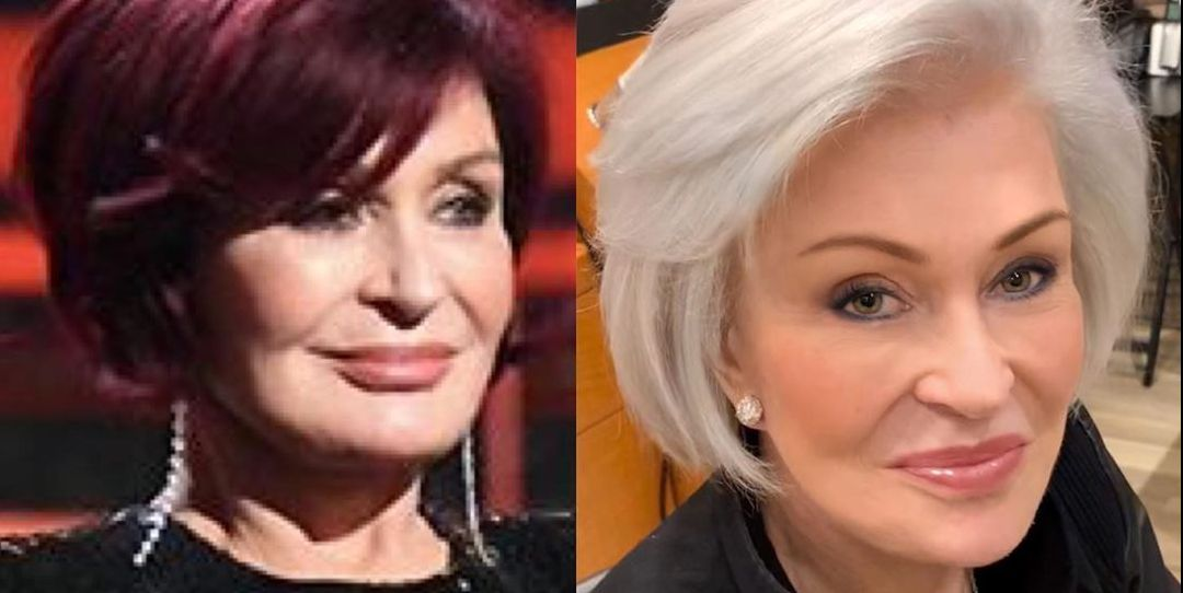 Sharon Osbourne's Iconic Red Hair Has Officially Been Retired for an All-White Look