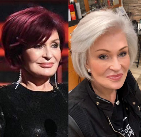 Sharon Osbourne debuts dramatic hair transformation as she ditches iconic red locks