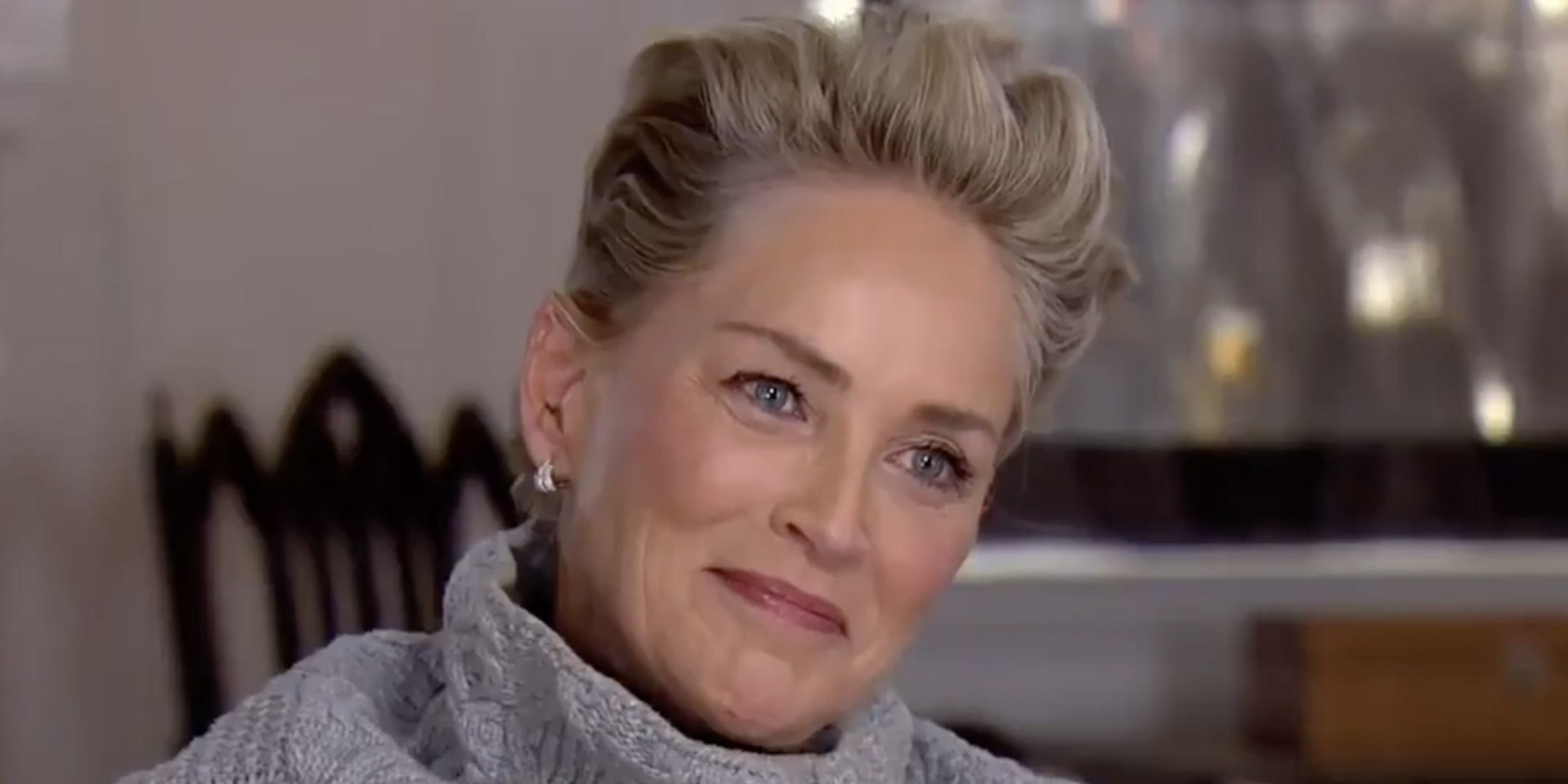 Sharon Stone Was Asked If She's Been Sexually Assaulted, and She Gave the Most Epic Response