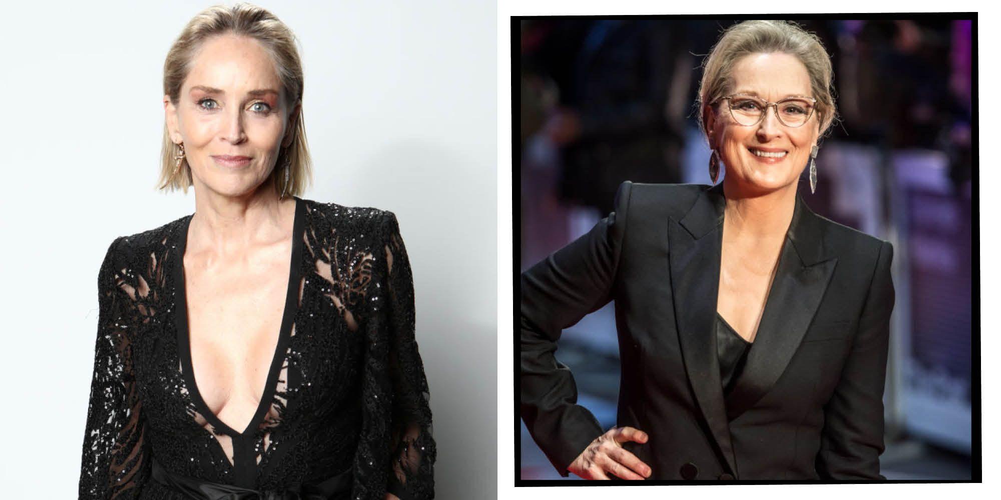 Sharon Stone Criticises Meryl Streep 'Icon' Status In Hollywood