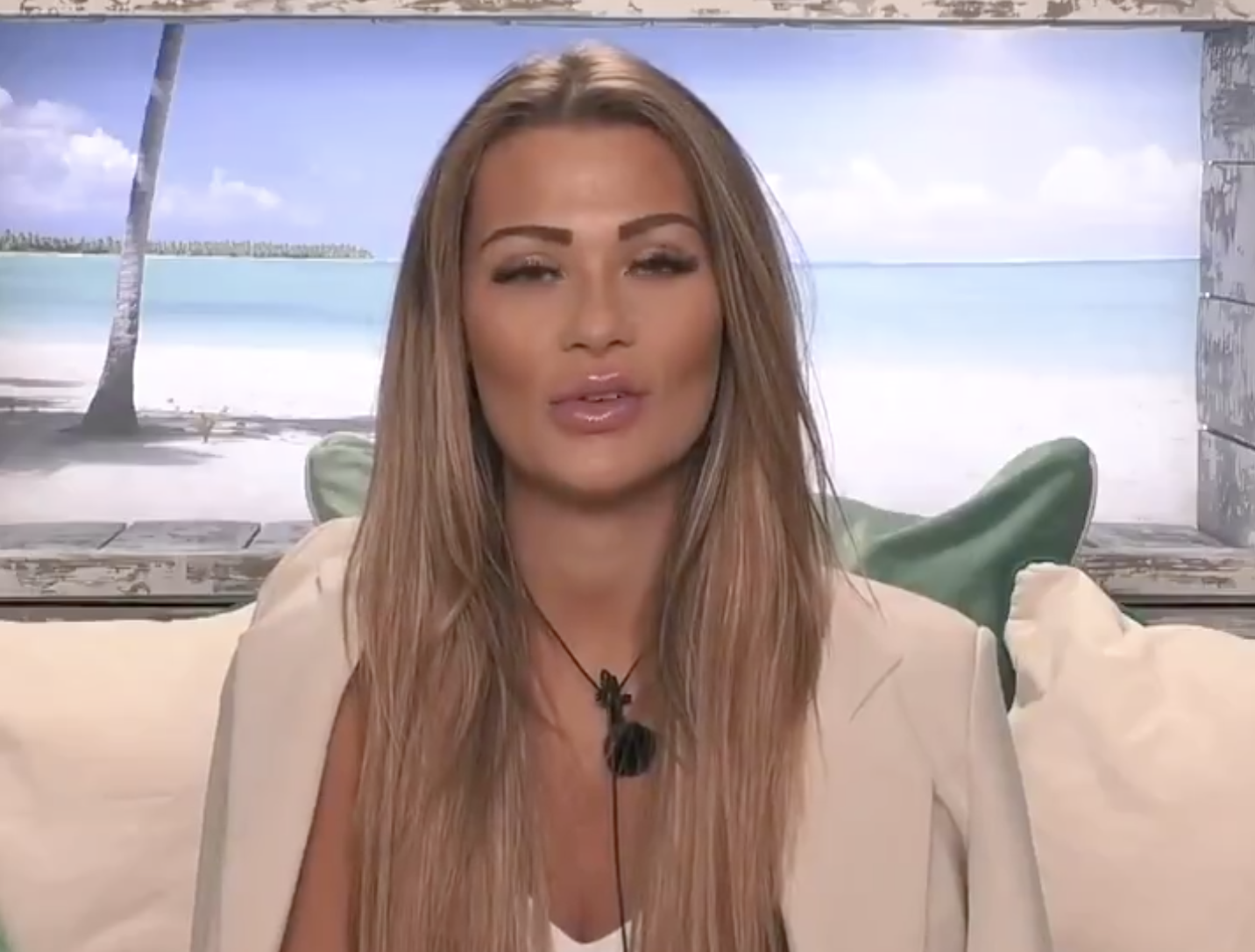 Love Island star makes major maths blunder
