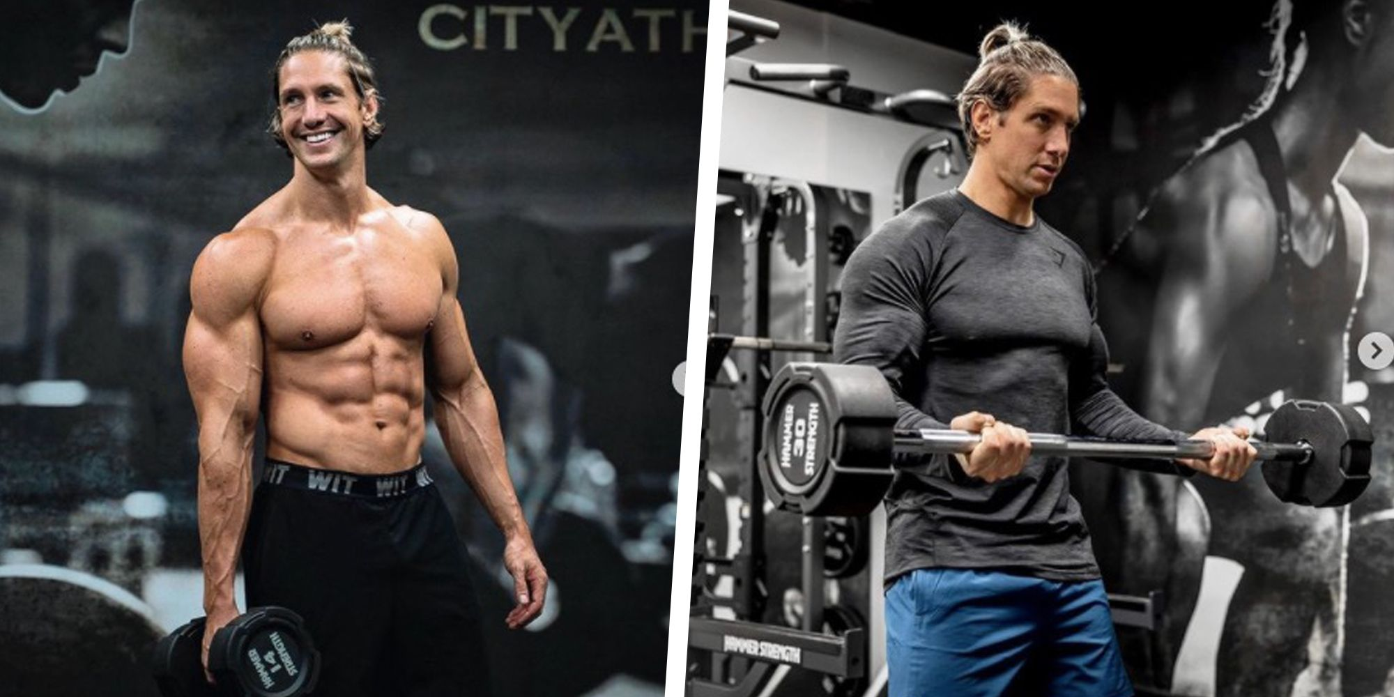 World Champion Fitness Model Shaun Stafford Shares His 20-Minute Workout for Building Muscle