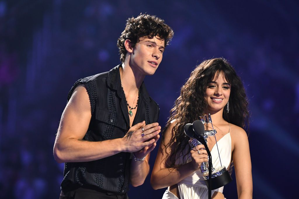 Camila Cabello and Shawn Mendes Posted a Very Dramatic Kissing Shot on Instagram