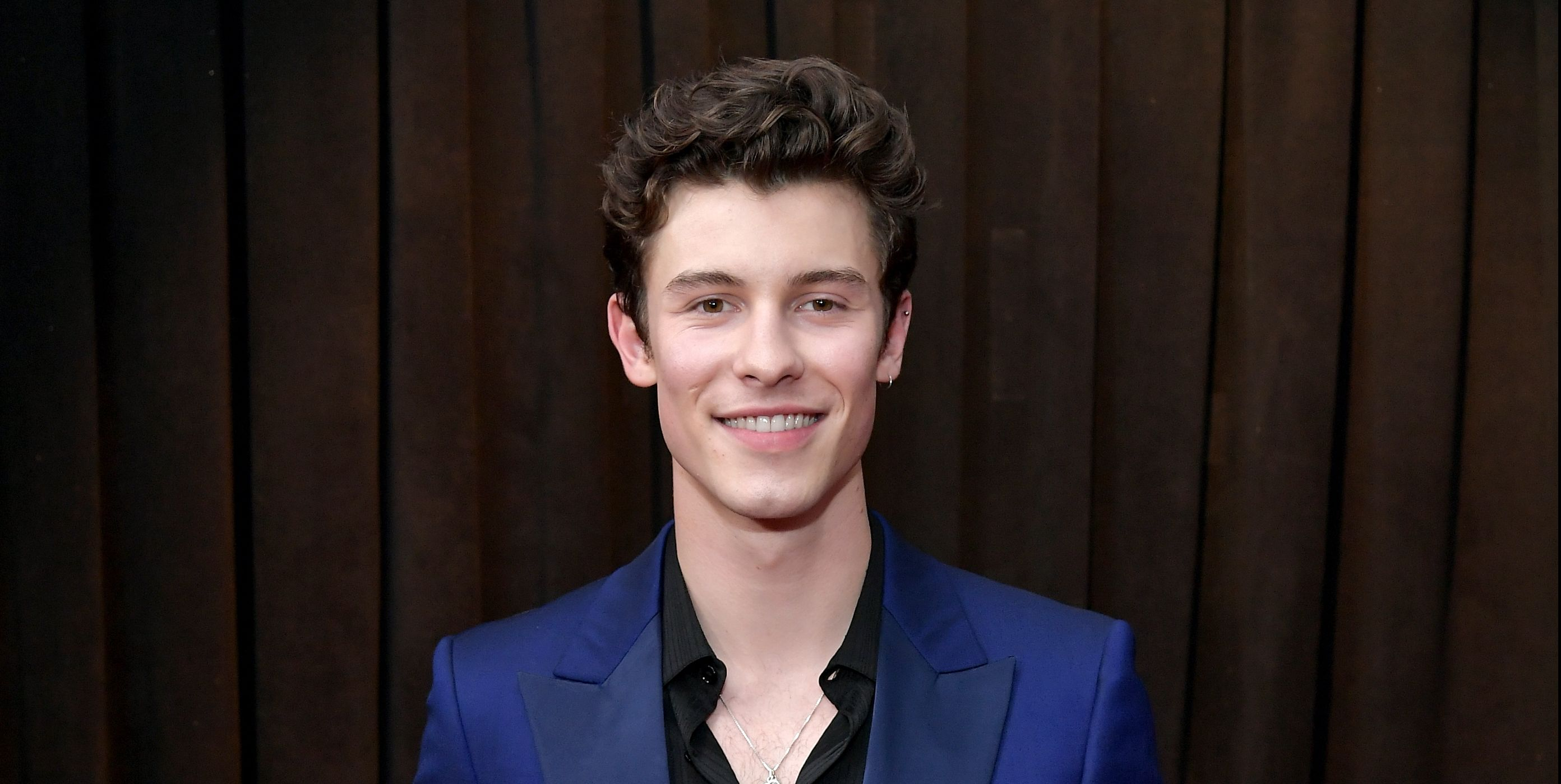 Shawn Mendes Walked the 2019 Grammys Red Carpet with a Mysterious Date