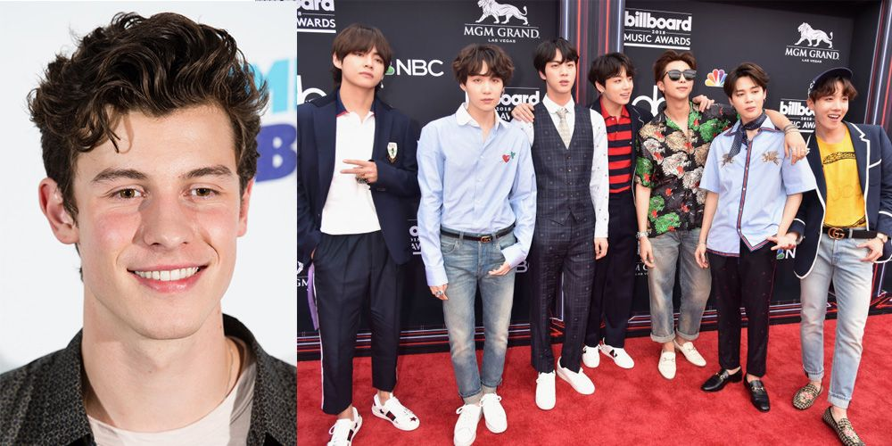 Shawn Mendes Just Promised Fans a Collab with BTS