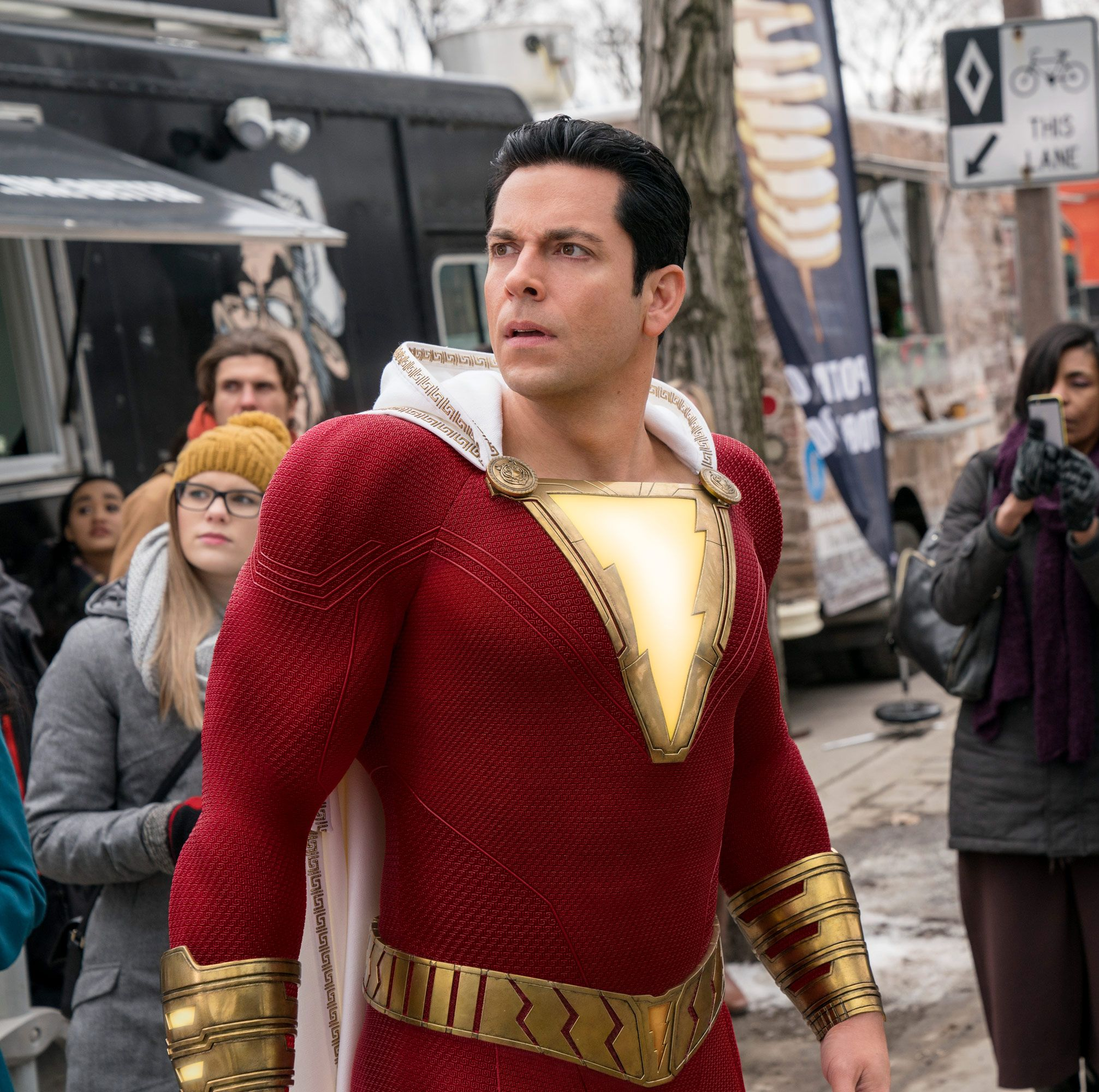 Shazam! first reviews call it one of the most fun superhero films ever made