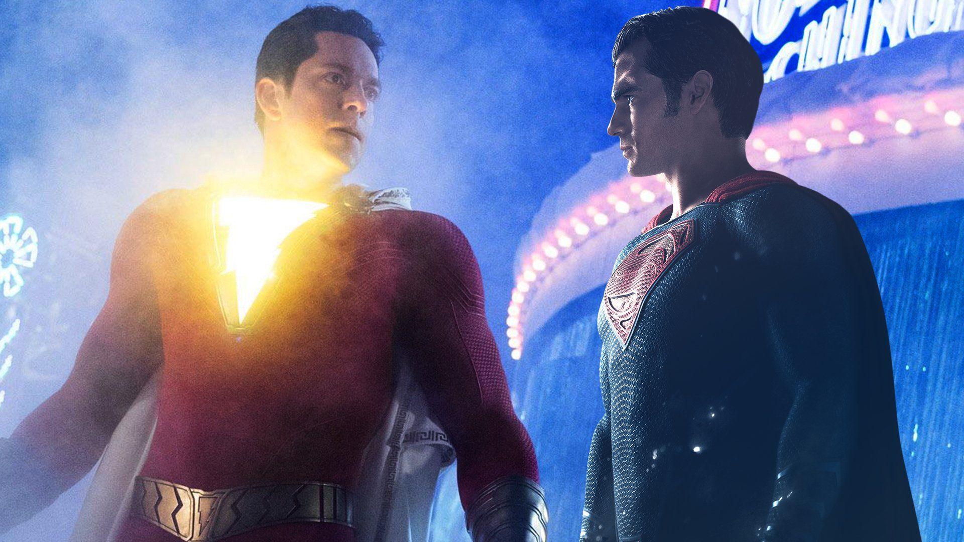 Superman Aparece En Shazam Henry Cavill