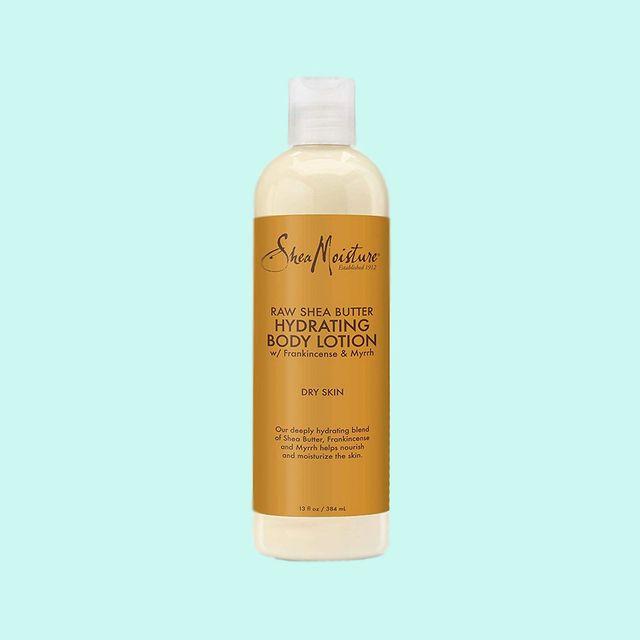 shea moisture raw shea butter hydrating body lotion review