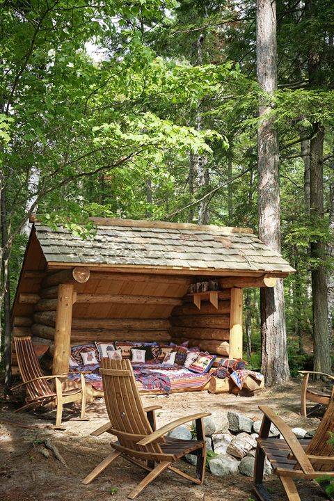 shed lounge landscaping ideas