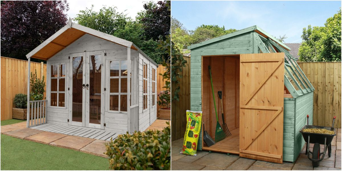 Garden Office Sheds Could Boost Your, Garden Shed Plan Uk