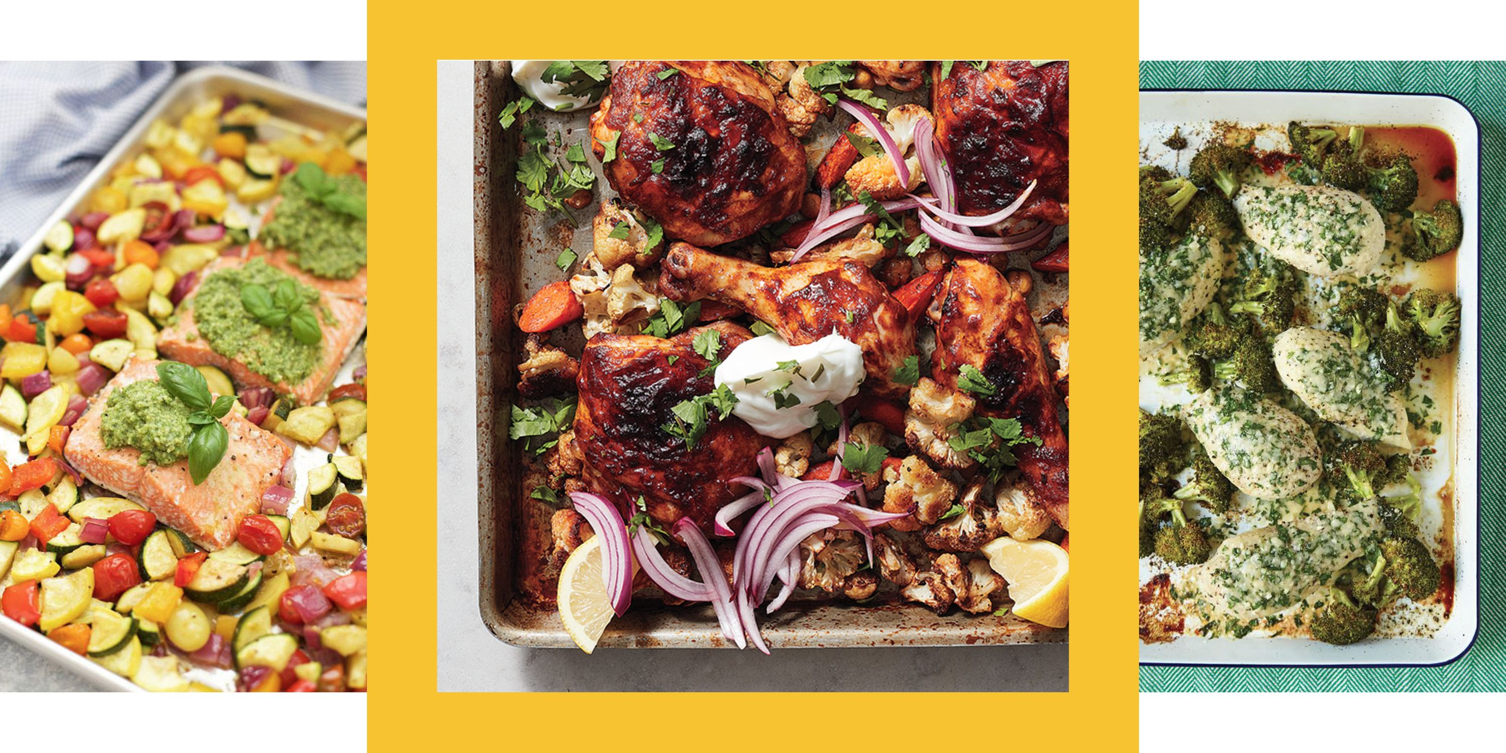 14 Super-Healthy Sheet-Pan Dinners That Make Meal Prep a Breeze