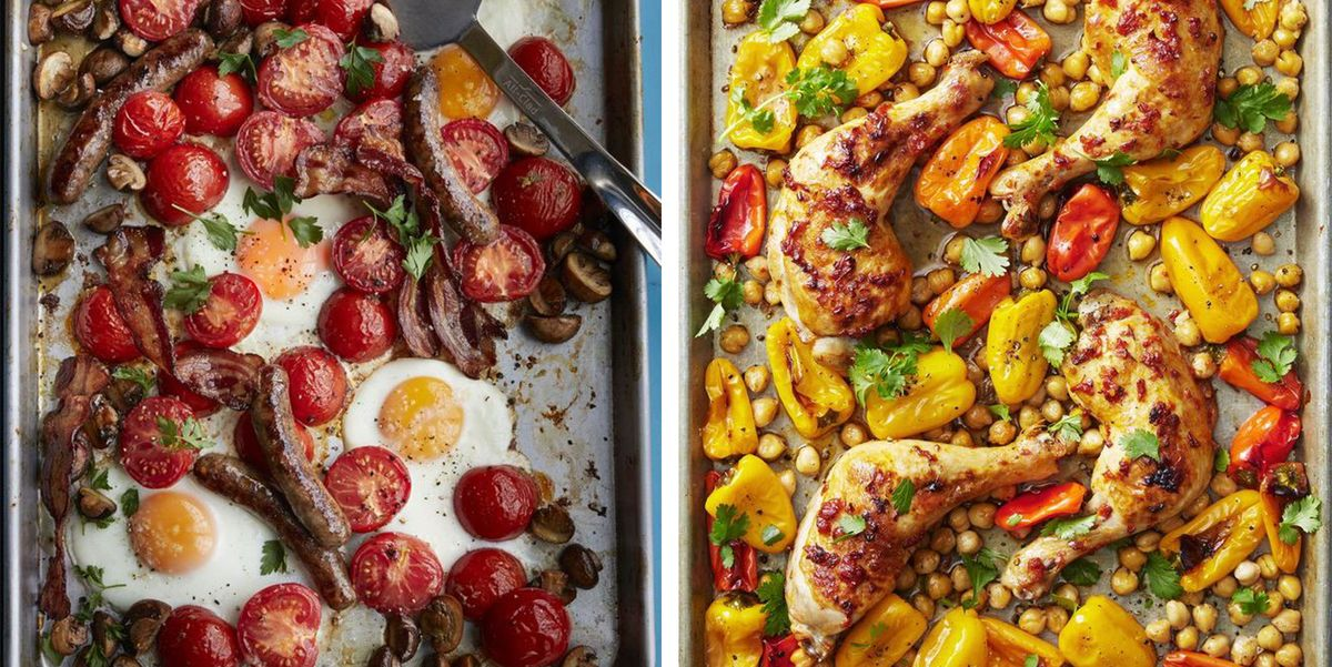 35 Easy Sheet Pan Dinners That You'll Want to Whip Up Nightly