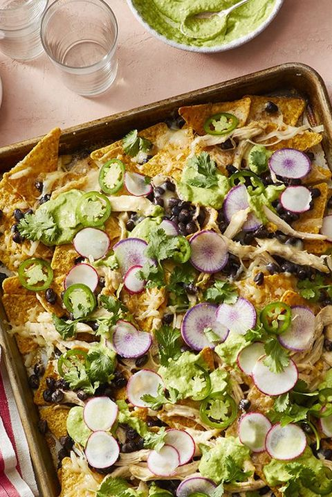 sheet pan dinners sheet pan chicken nachos