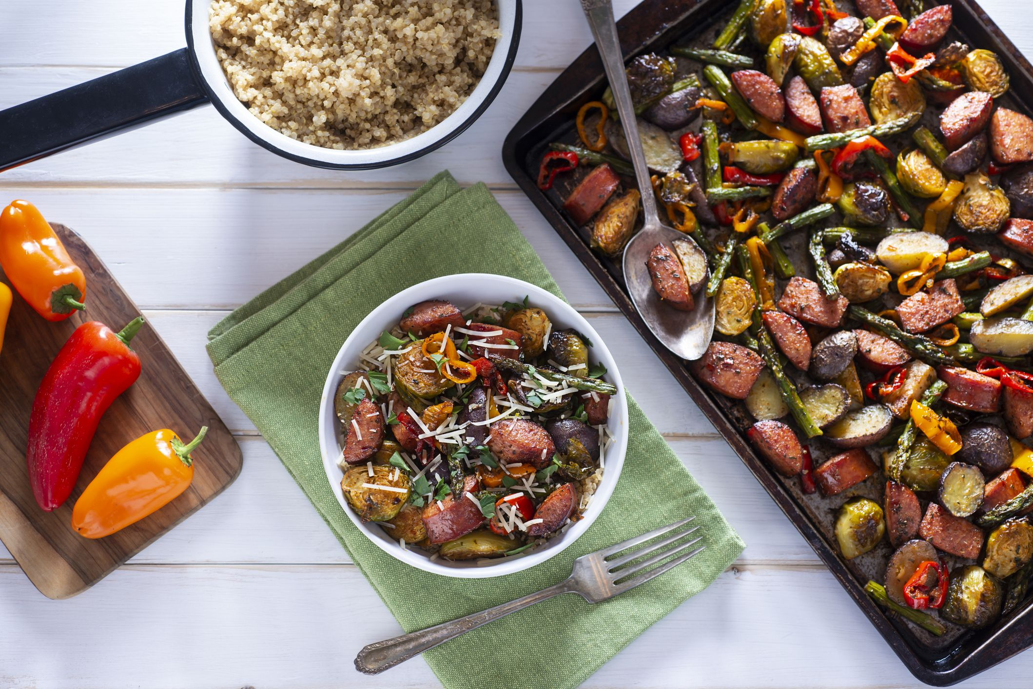 One-Pan Italian Sausage & Veggies