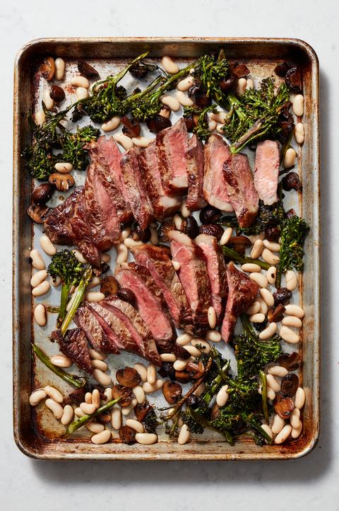 sheet pan steak veggies recipe