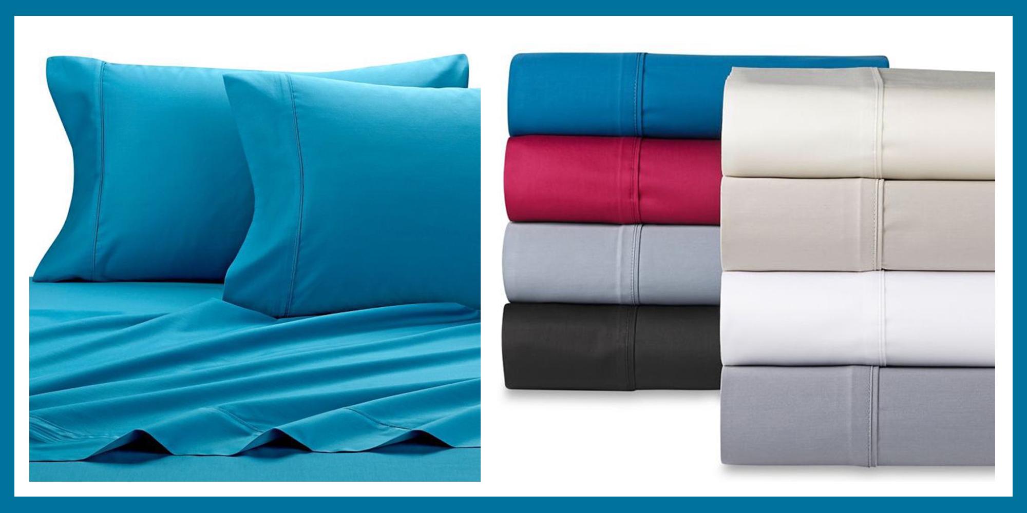 SHEEX Micro Balance 37.5®  AQUA blue King Sheet Set 4PC NEW Performance Fabric