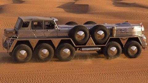 10 Big Rigs and Monster Machines