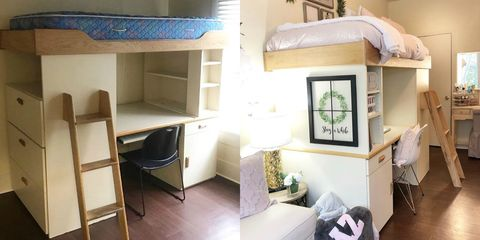 picture of a dorm room