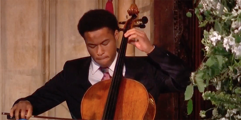 Sheku Kanneh Mason Royal Wedding