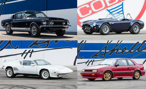 Every Car From Carroll Shelbys Private Collection Thats Selling At