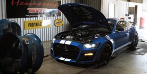 Shelby GT500 banco