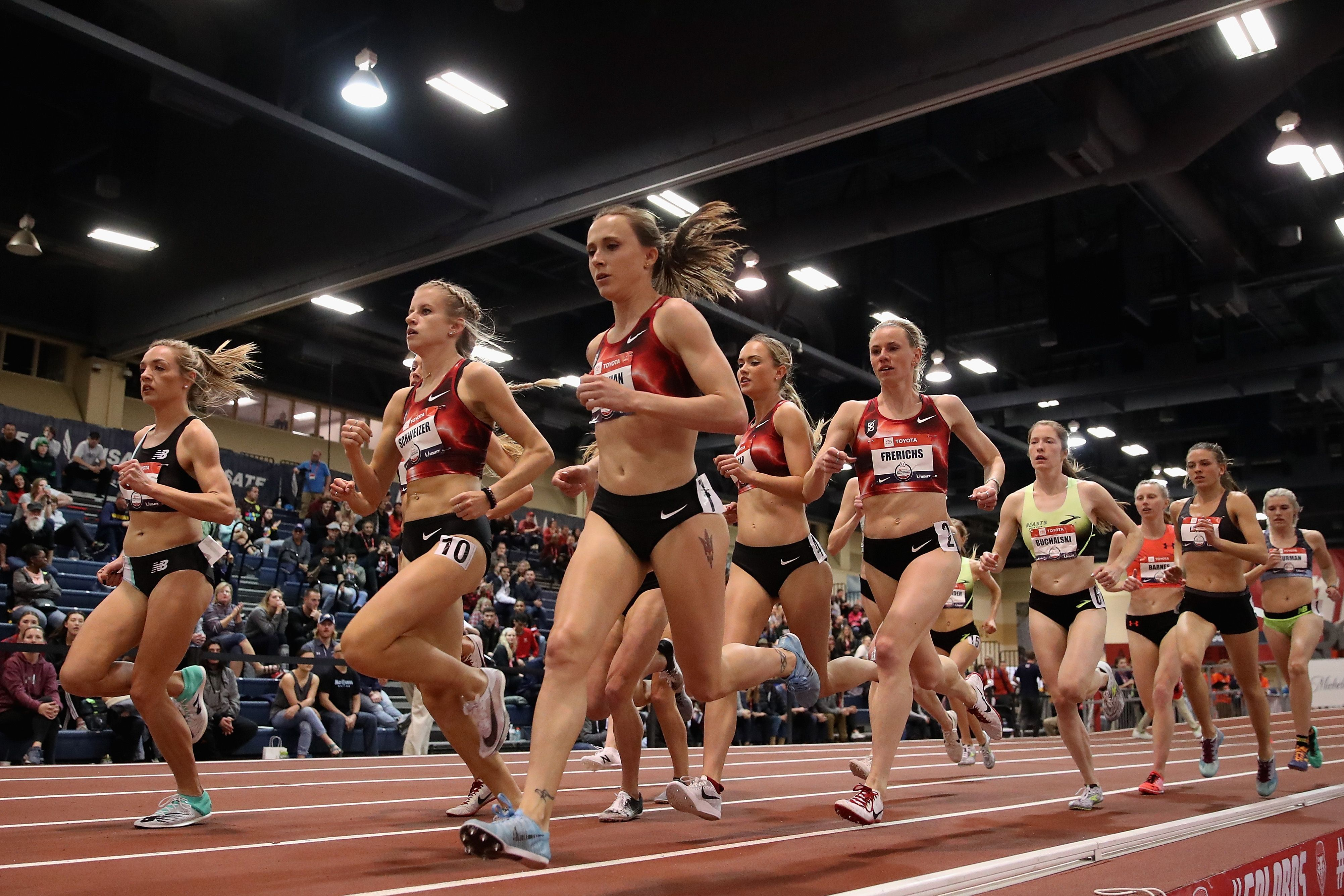 Pro Running Groups Are Social Distancing