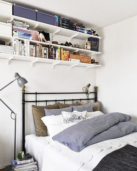 20 Brilliant Storage Tricks For Small Bedrooms