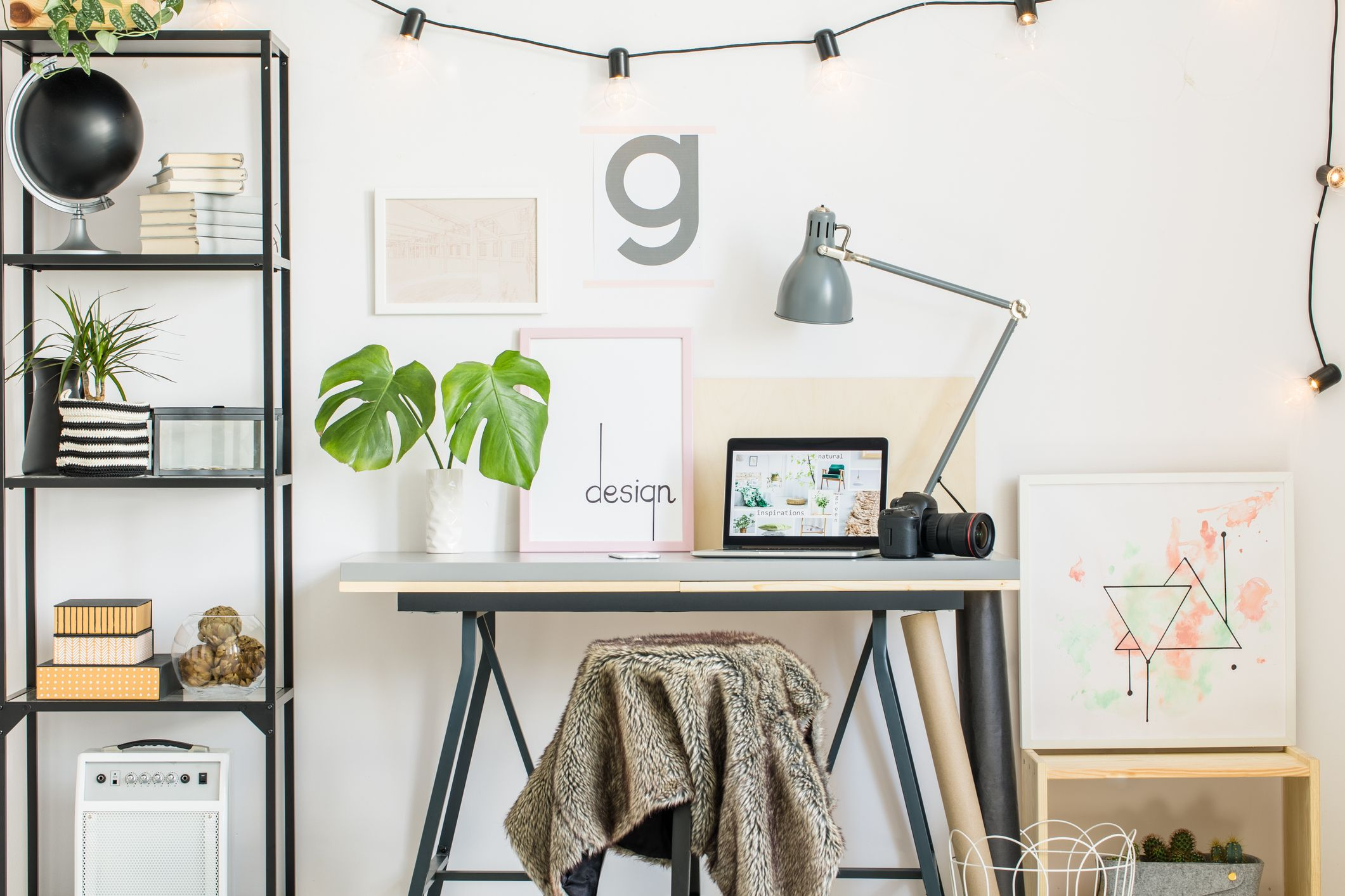 Home Office Design Concept