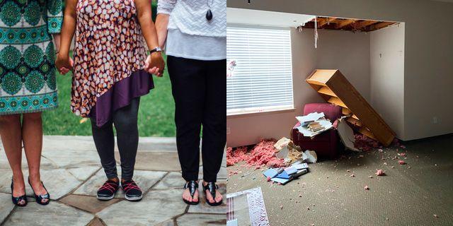 genesis women's shelter in dallas, tx, suffered damage in winter storm