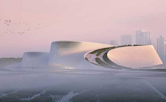 shenzhen natural history museum de 3xn, bh and zhubo design en china