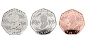 The Royal Mint release new Sherlock Holmes coin
