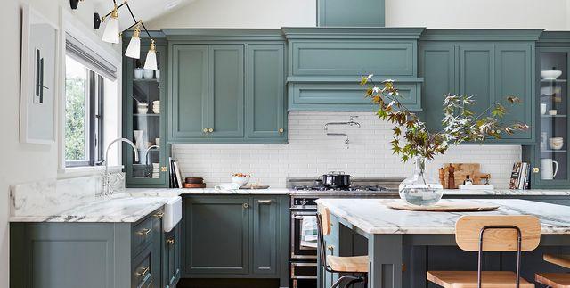 Kitchen Cabinet Paint Colors For 2020, Best Blue Gray Paint For Kitchen Cabinets