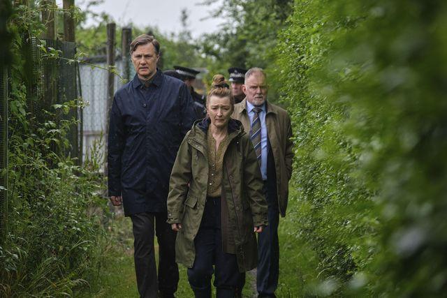 david morrissey and lesley manville in sherwood
