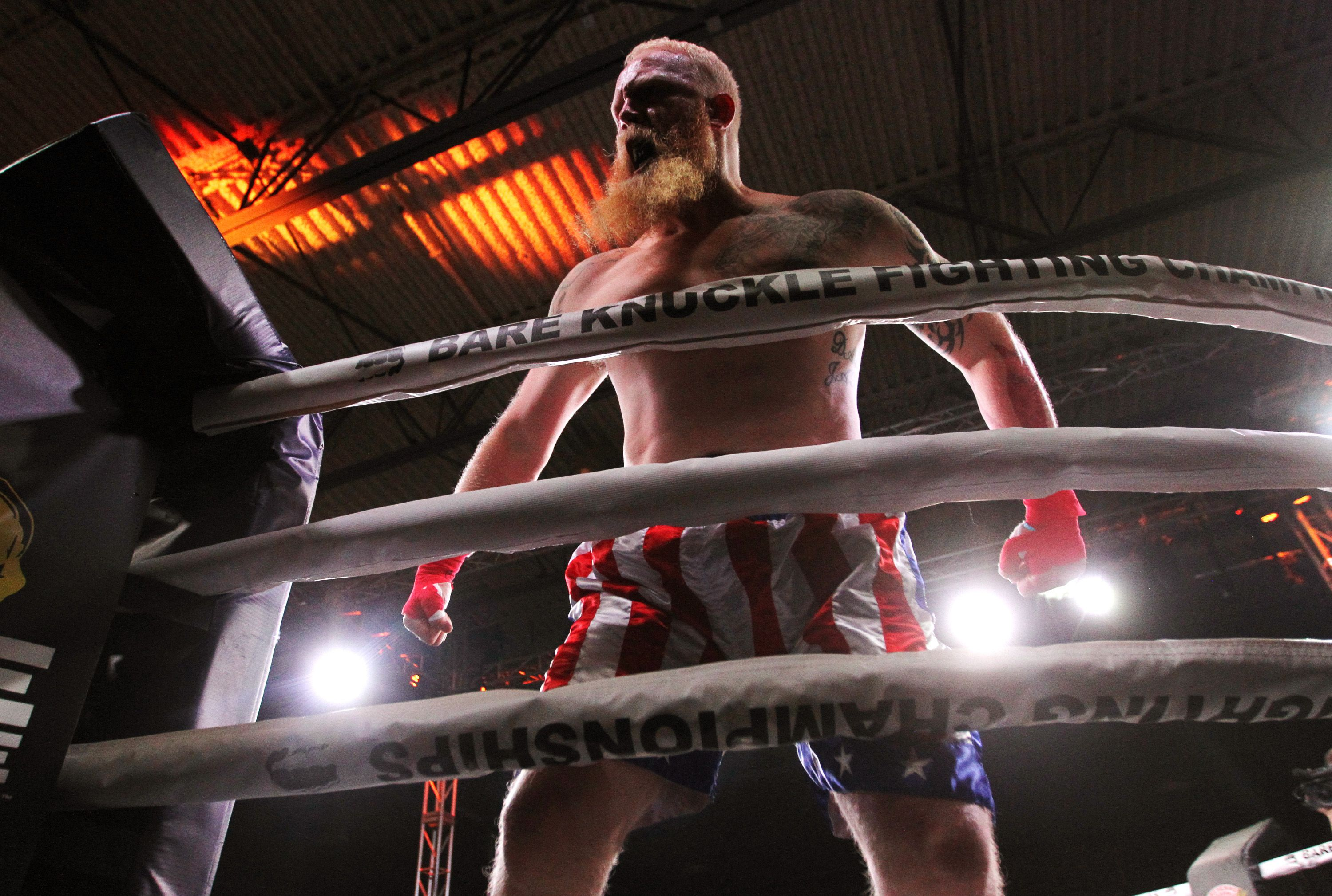 Legal Bare Knuckle Boxing Debut in Wyoming - Inside Bobby
