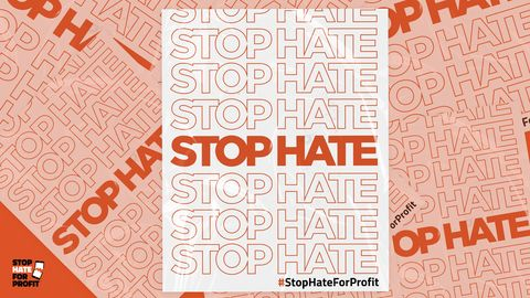 stop the hate for profit campaign