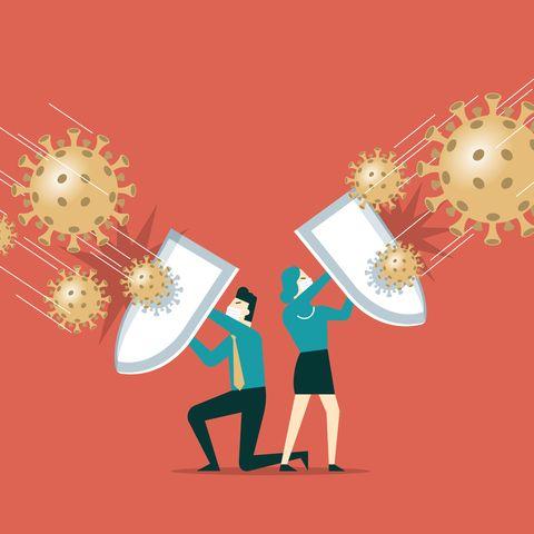 shield against coronavirus