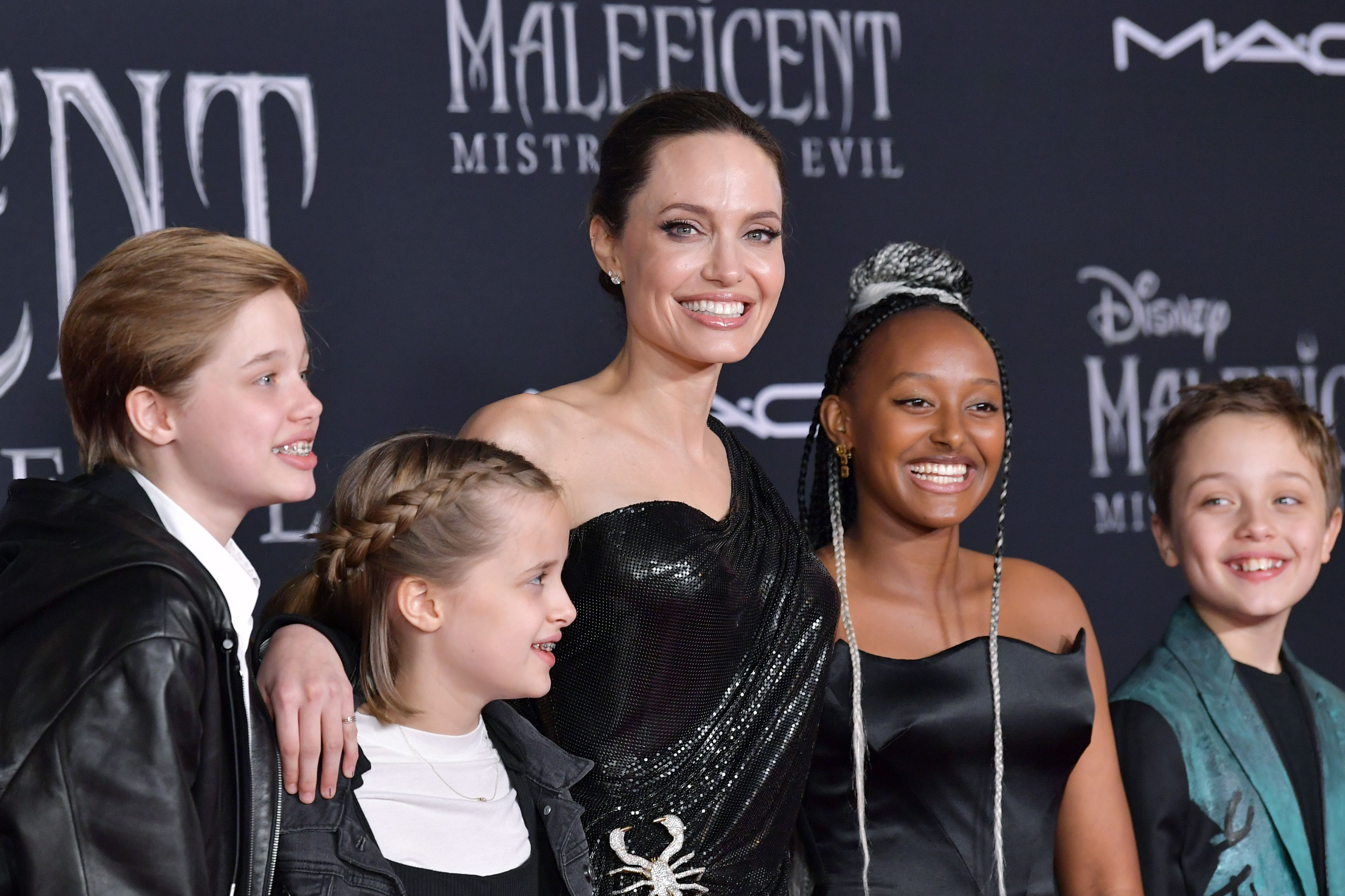 Zahara Jolie-Pitt Wore Pieces From Her Own Jewelry Line to the 'Maleficent' Premiere