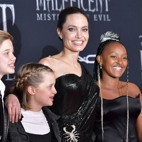 Zahara Jolie Pitt Wore Her Own Jewelry Line To The